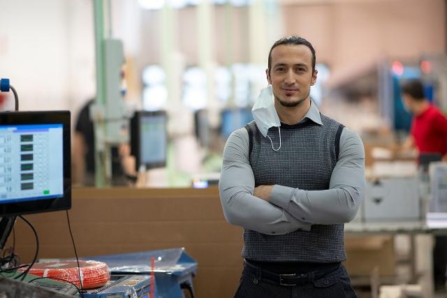 Samuele Maugeri, responsabile operations di Mebra Plastik Italia
